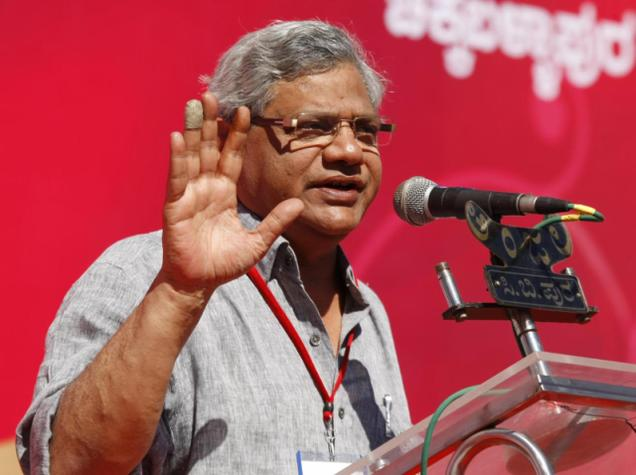 CPI-M stalls Yechury's re-election to RS