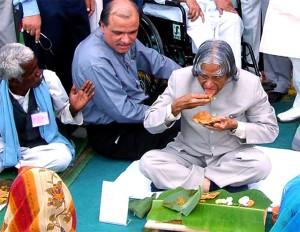 Khan with kalam