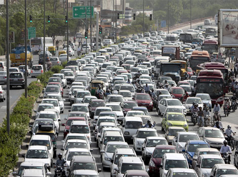 Image result for cars traffic indian awaaz