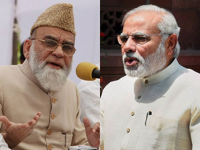 Imam Bukhari meets PM Modi, asks him not to harass Muslims