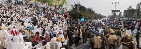 Jaat-agitation hit normal life in Haryana