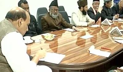 Muslim clerics meet Rajnath Singh, discuss issues concerning community