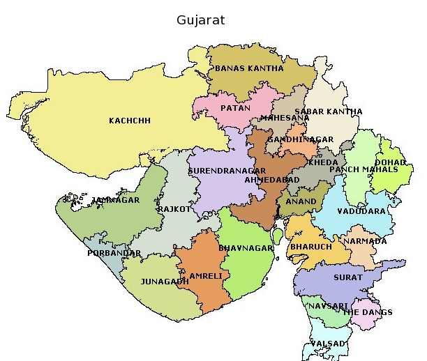 gujaratlocationmap