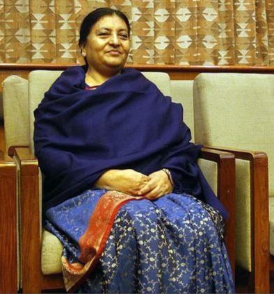 Bidhya-Bhandari-First-Female-President-of-Nepal