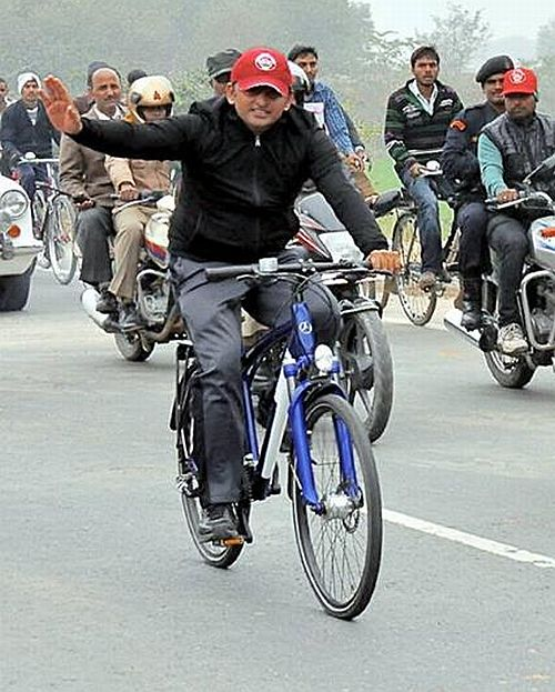 cycle akhilesh