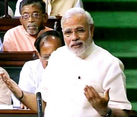 PM-Modi-in-Lok Sabha