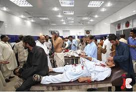 63 dead as suicide 54 injured in suicide blast at Quetta Civil Hospital