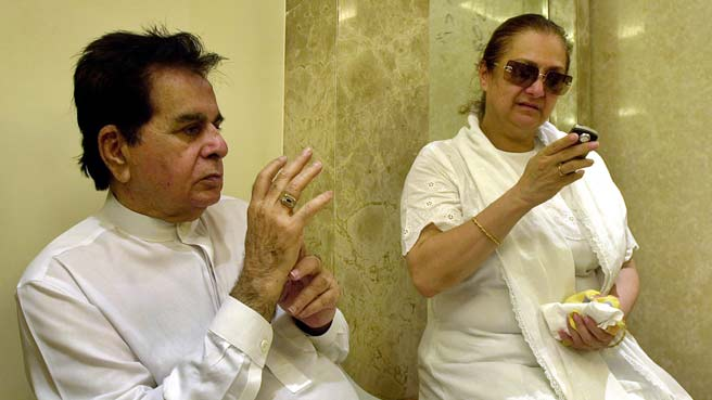 Threat to Dilip Kumar's Bungalow, Saira Banu Seeks PM's Help