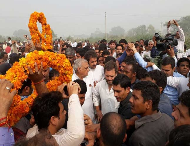 Politicians flock to Bhiwani for ex-soldier Grewal's last rites