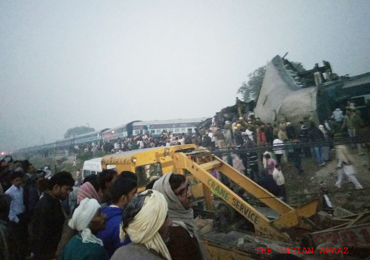 Train accident: Indore-Patna express derailed