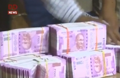 Rs.8 crore seized from Delhi law firm