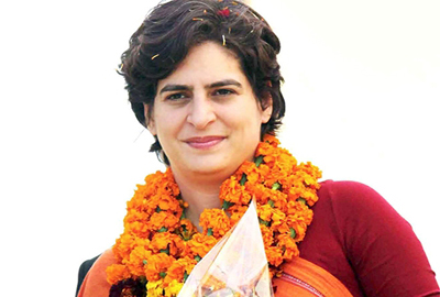 Priyanka Gandhi to shift to Lucknow
