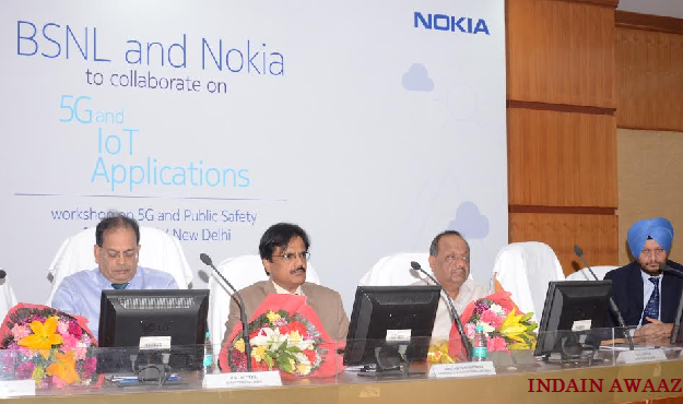 BSNL joins hand with Nokia to develop 5G ecosystem in India
