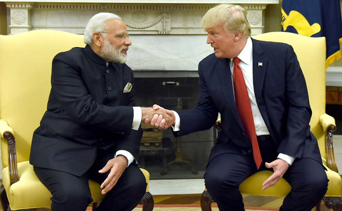 Anti-India violence not conducive to peace, PM Modi tells Donald Trump