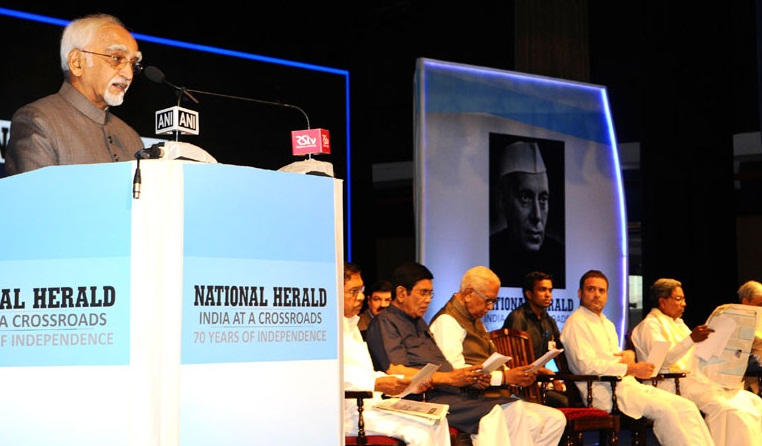 VP at national herald function