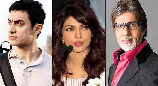 Aamir, Amitabh Bachchan, Priyanka nominated as Oscar body members