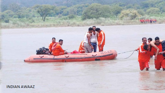 Relief & rescue operations in full swing in flood-hit areas of Gujarat, Rajasthan