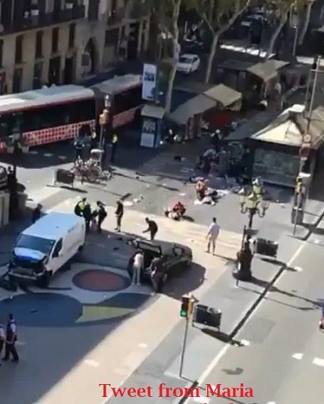 विश्व के नेताओं सहित PM मोदी ने बार्सिलोना हमले की निंदा की