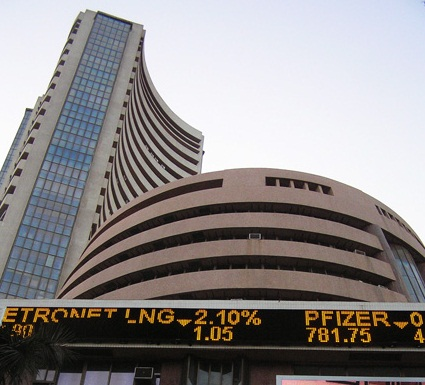 Sensex, Nifty End Range-bound Session Lower