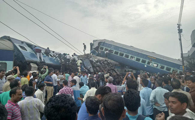 Train derailment in India kills 23