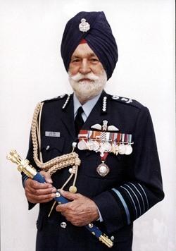 Arjan Singh is dead