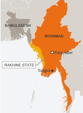Rohingya Rakhine state
