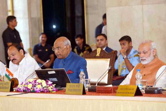 President of India addresses at the 48th Governors conference at Rashtrapati Bhavan