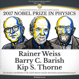 NOBEL PRIZE PHYSICS 2017