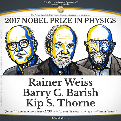 Gravitational wave discoverers win physics Nobel prize