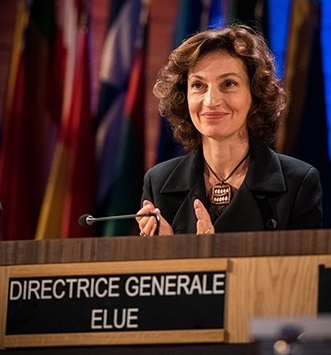UNESCO DG azoulay