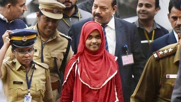 Finally, Hadiya could speaks to husband Shafin Jahan