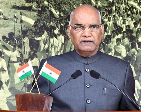 President Kovind calls for elimination of poverty in shortest time