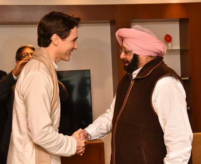 Canada does not support any separatists, Trudeau tells Punjab CM