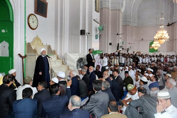 Prez Rouhani in Hyderbad