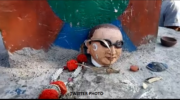 After Lenin and Periyar, now Ambedkar's statue demolished in Uttar Pradesh