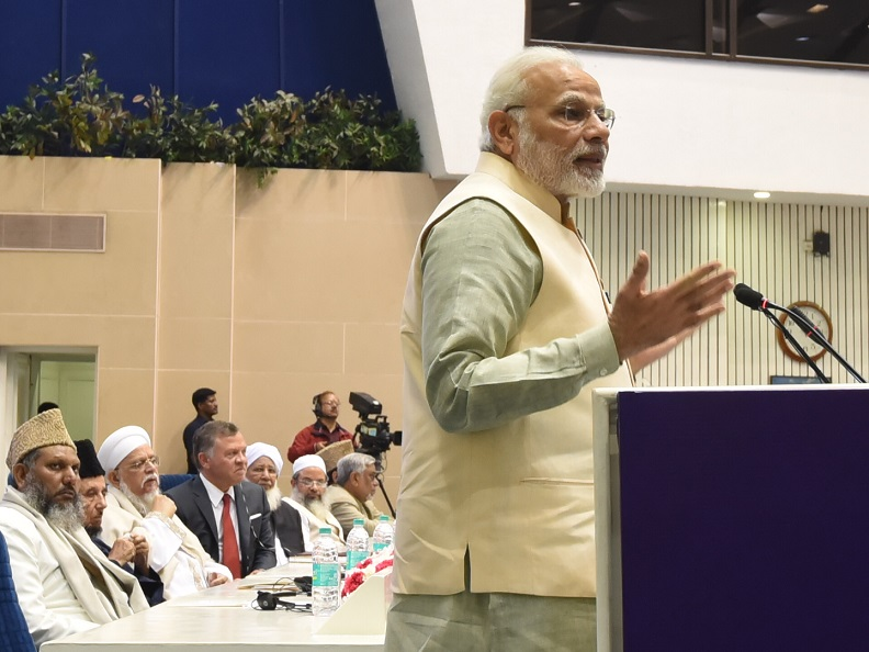 No religion preaches people to be intolerant - PM Modi