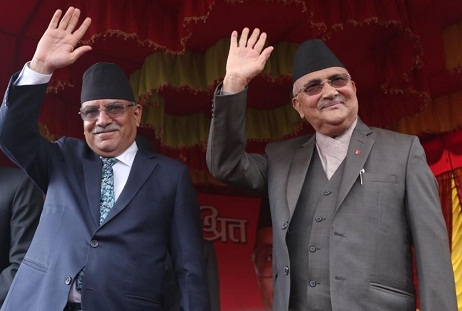 Nepal's two left parties merge, becomes largest communist party