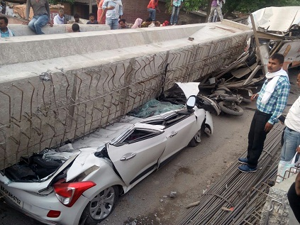 Flyover collapses in Varanasi, kills 12, Modi condoles incident