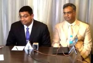 Dr Dinesh Nair with Mr. Nakul Bairaria