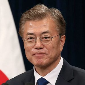 south korean prez Moon