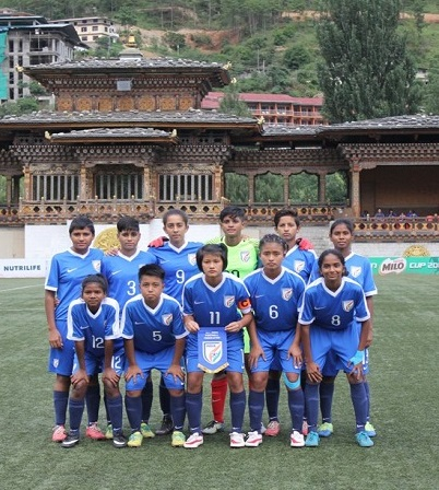 U-15 football women