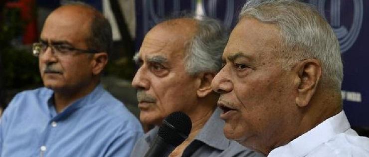 Yashwant, Shourie on Rafale