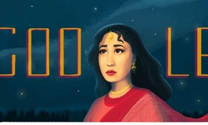 Google Doodle remembers Meena Kumari on her 85the birth anniversary