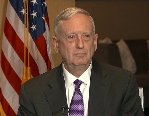 Mattis: Putin tried to 'muck around' in US  midterm elections