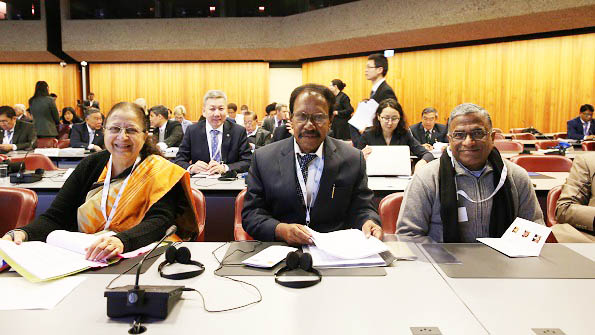 Indian Parliamentary Delegation in Geneva to attend IPU Assembly