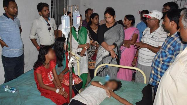 girls beaten up in bihar saupoul