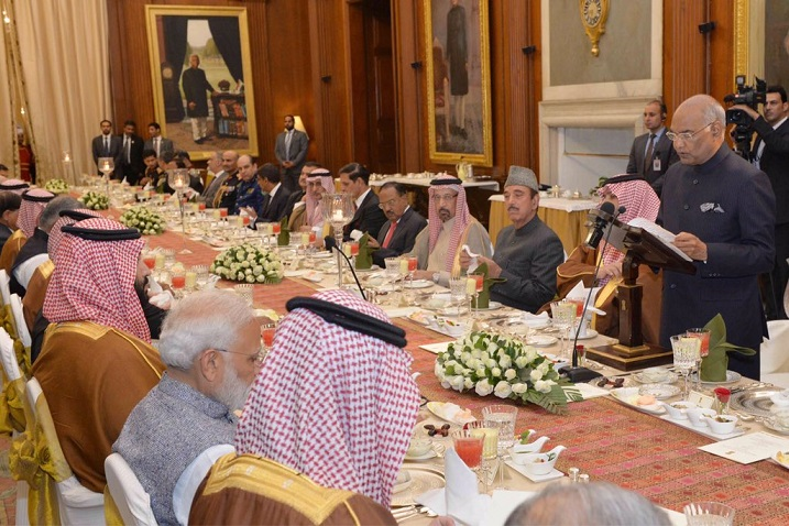 Saudi Arabia is our most important source of energy: President Kovind
