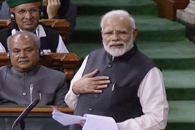 PM asks opposition to join hands to build inclusive India