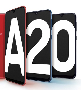 Samsung India Launches Galaxy A20