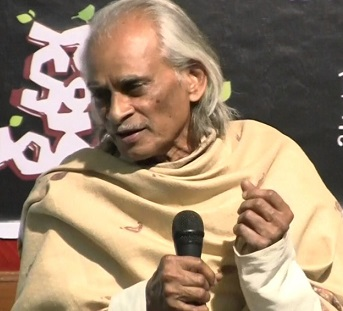 Telugu poet K Siva Reddy selected for prestigious Saraswati Samman